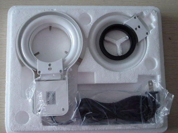Ring lamp packing