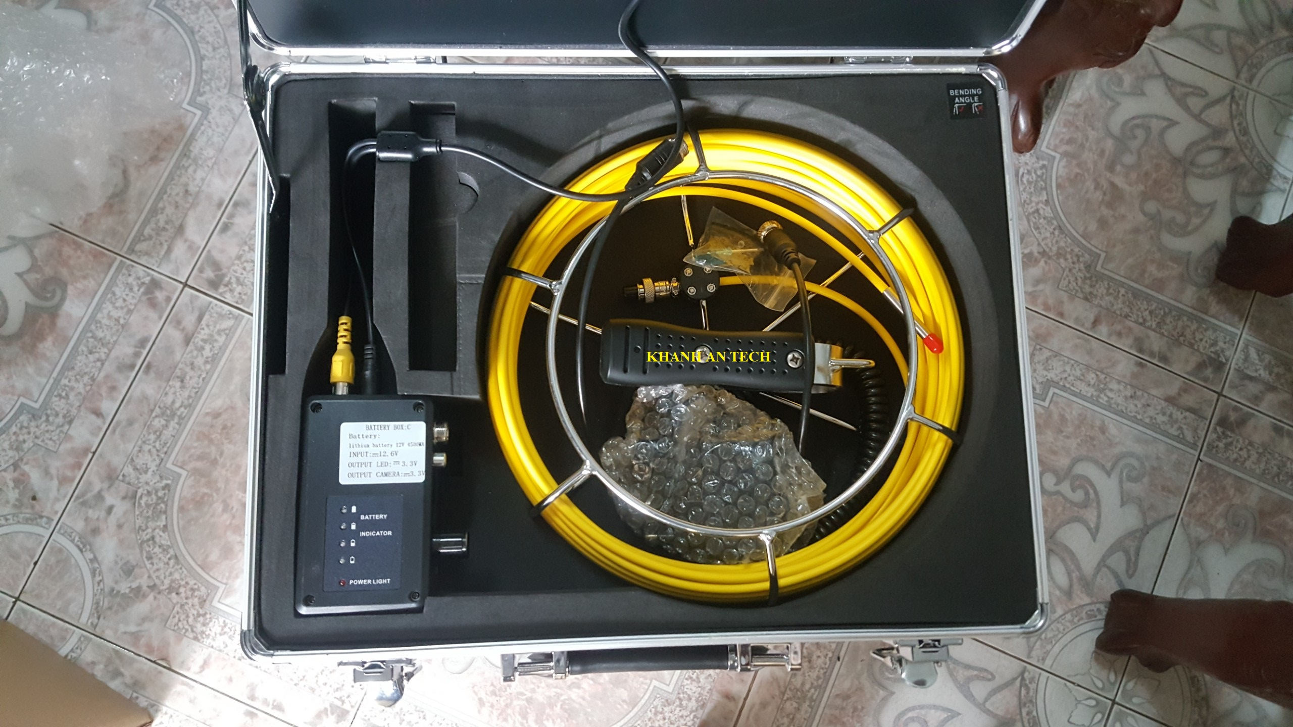 Pipe Inspection system – KHANH AN